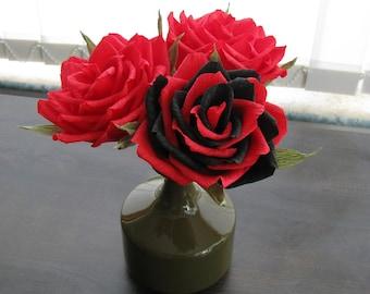 Paper Wedding Decor Bouquet Bridal Flower Centerpiece