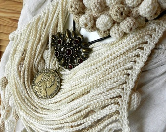 Crocheted jewelry