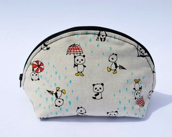 Make up Pouch, Cosmetic Bag, Travel Accesory.