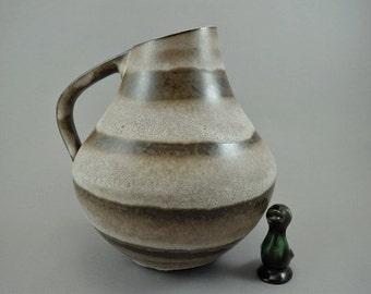 Well shaped vintage vase (jug) / Dumler & Breiden / 277 23 | West Germany | WGP | 60s