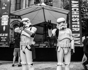 Manchester Day Parade Storm Troopers
