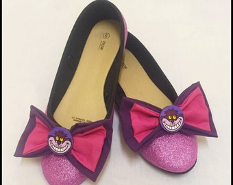 Cute sparkly Chesire Cat ballet flats shoes - Disney
