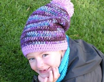 Beanie Crochet Hat Boho