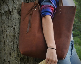 Brown Leather/Over Shoulder No 87