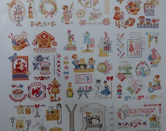 Sheet Theme works of Embroideresses Parisiennes