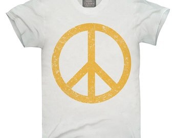 Distressed Peace Sign T-Shirt, Hoodie, Tank Top, Gifts