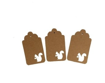 Squirrel Gift Tags