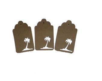 Palm Tree 1 Gift Tags