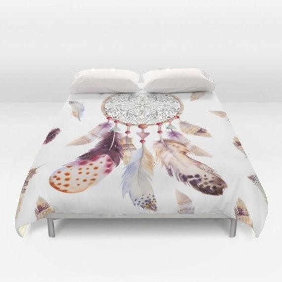 housse de couette housse de couette love dream par pushkastudio. Black Bedroom Furniture Sets. Home Design Ideas