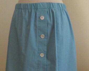 Vintage Cristique Light Blue Skirt.