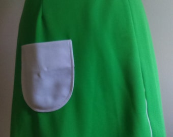 Vintage Delfini Original Green Skirt/Skort.