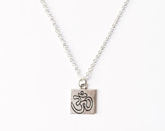 Om Tag Necklace