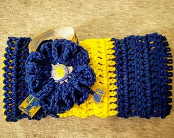 Warriors Headband/Earwarmer