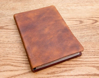 NIV Large print thinline, full grain cowhide leather bible