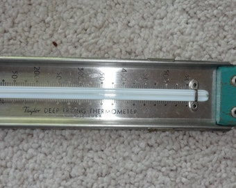 Taylor Deep Frying Thermometer made in the USA vintage