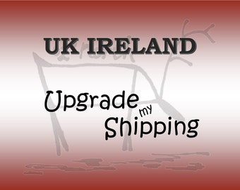 International Shipping with Tracking to IRELAND & UK , Postage upgrade,Tracked shipping, Shipping add on from Australia Post