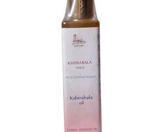 Kshirabala Oil (USDA Certified Organic) - Gopala Ayurveda