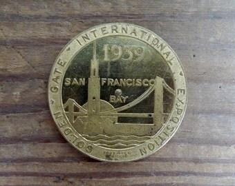 Golden Gate International Expo Coin