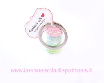 Placeholder Keychain macarons