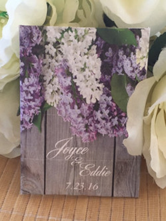 Special Listing: 53 lilac Wedding Seed Packet Favors