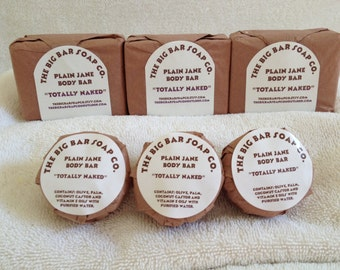 Plain Jane Body Bar-scent and color free-moisturizing