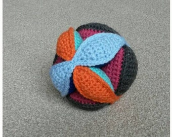Large Crochet Puzzle Ball