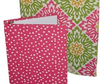 One and a Half Inch Binder - Fabric Covered