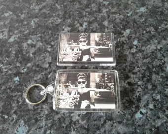 Breakfast at Tiffany's (Window) Keyring and Magnet Set. NEW. Audrey Hepburn