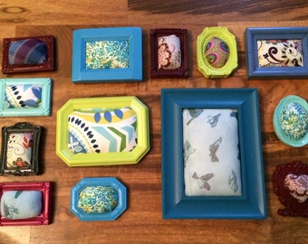 Picture Frame Pincushions