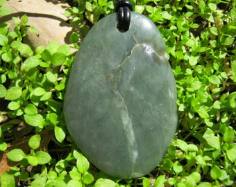 Big Sur Nephrite Jade Pendant