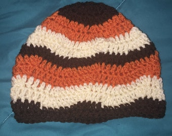 Crochet Multicolored Hat