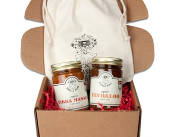 Gourmet Gift Pack - Organic Simmer sauces (set of 2)