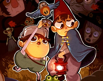 Over The Garden Wall - Print