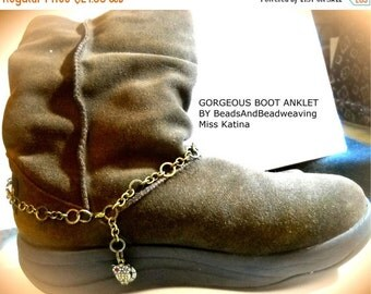 ON SALE NOW Boot Anklet (Sale)
