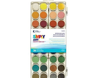Loew Cornell Simply Art Watercolor Cakes