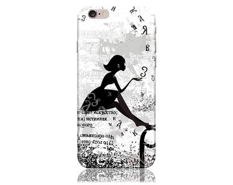 iPhone 6 Plus Case - iPhone 6+ Case - iPhone 6 + Case #Dandelion Girl Cool Design Hard Phone Case