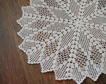 Napkin crocheted