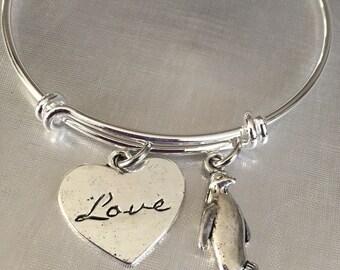 Penguin love penguins bracelet