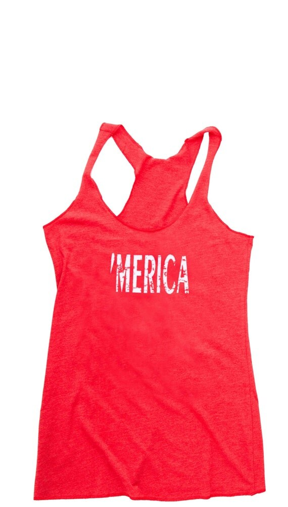 4th of July Shirt Women. American Flag Shirt. Cute Women's Tank Top Merica. Fourth of July. July 4th Tank. 4th of July. Country Concert Top.