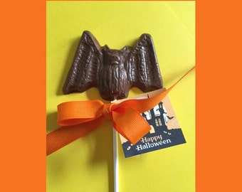 Halloween Bat Chocolate Pops