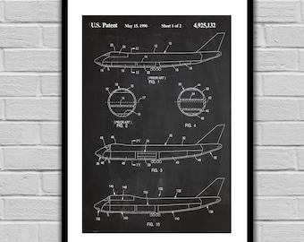 Airplane Patent, Airplane Poster, Airplane Blueprint,  Airplane Print, Airplane Art, Airplane Decor