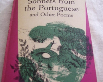 Sonnets from the Portuguese and Other Poems by Elizabeth Barrett Browning Dolphin 1965 Pb Vintage