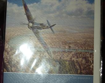 Fighter Plane Birthday Card