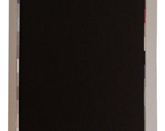 Wooden Framed Blackboard Grey