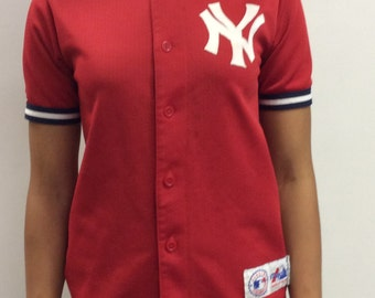 New York Yankees Baseball Jersey Size L