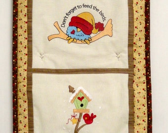 Feed the Birds Wall Hanging