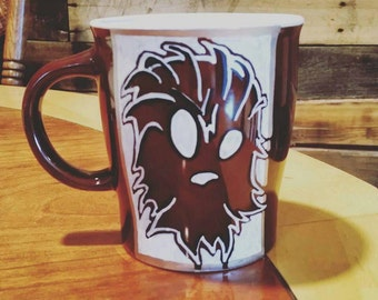 Star wars wookie mug