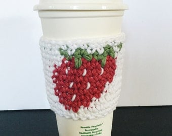 Crocheted Cup Cotton Cozy