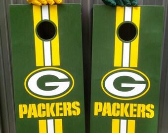 Green Bay Packers Cornhole/Bean Bag Toss
