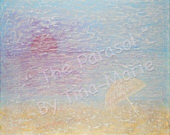 The Parasol - Original Canvas Painting